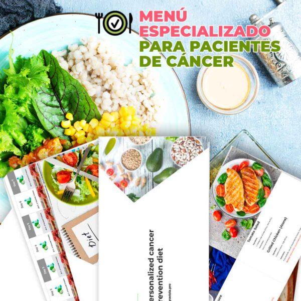 Menú especializado para pacientes de cáncer Gratis